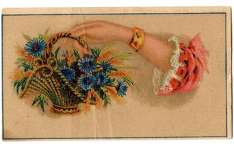 Rowans Vintage Card (front)