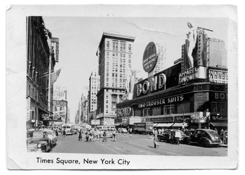 Times Square Vintage Photograph