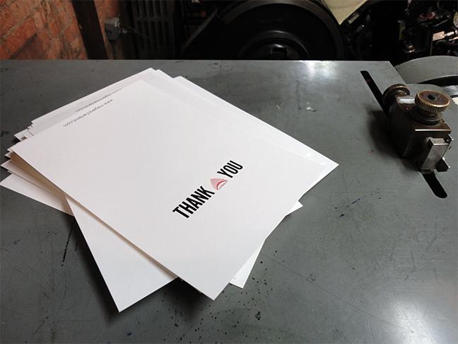 Lovin' Letterpress II - Week 2