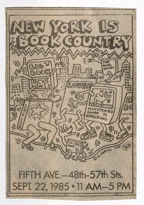 Keith Haring - NY is Book Country